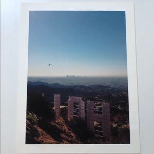 13x17 Hollywood Sign Print